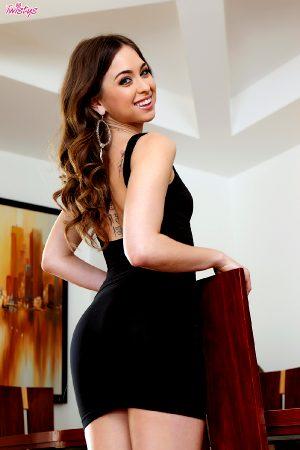 Riley Reid Twistys The Little Black Dress