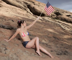 Alaina Fox, Wishing You A Very Happy 4th Of July