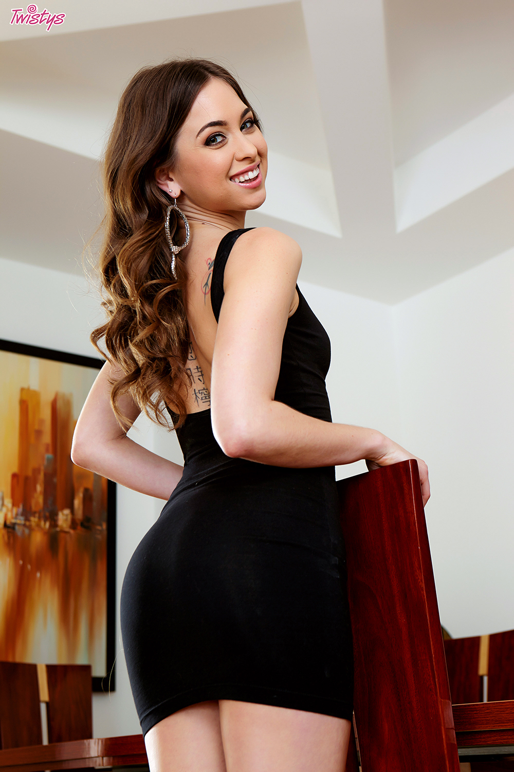 Riley Reid Twistys The Little Black Dress 1