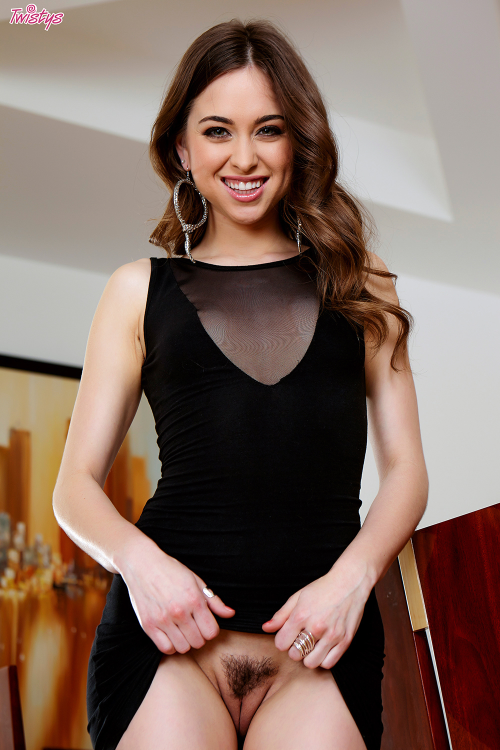 Riley Reid Twistys The Little Black Dress 2