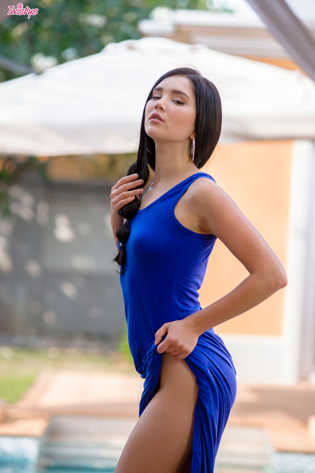 Erotic Model Long Dress 5