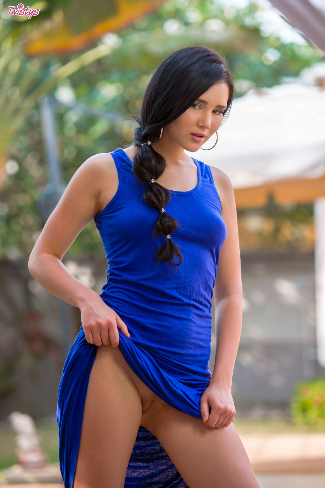 Erotic Model Long Dress 7