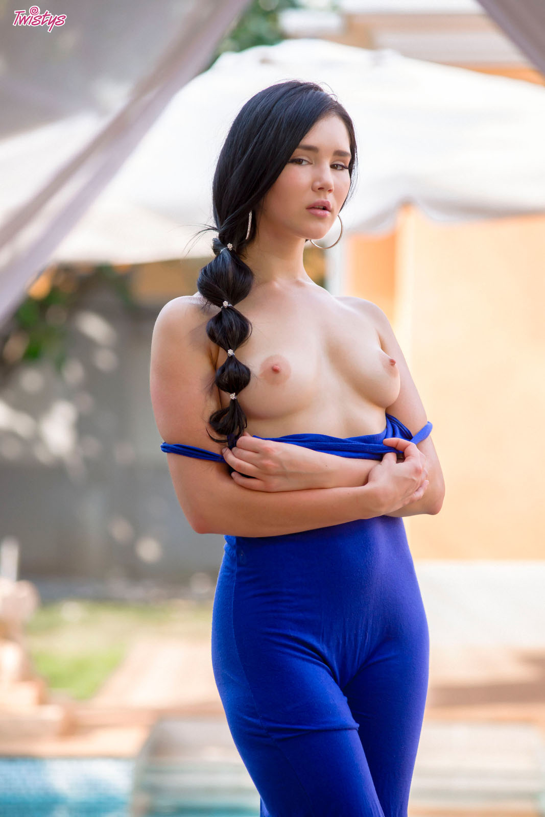 Erotic Model Long Dress 8