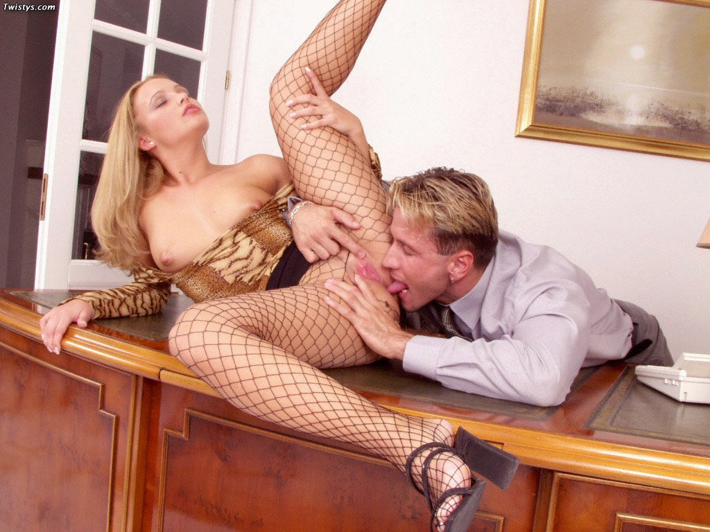 Tiffany Rose In Fishnet Pantyhose Getting Fucked 5