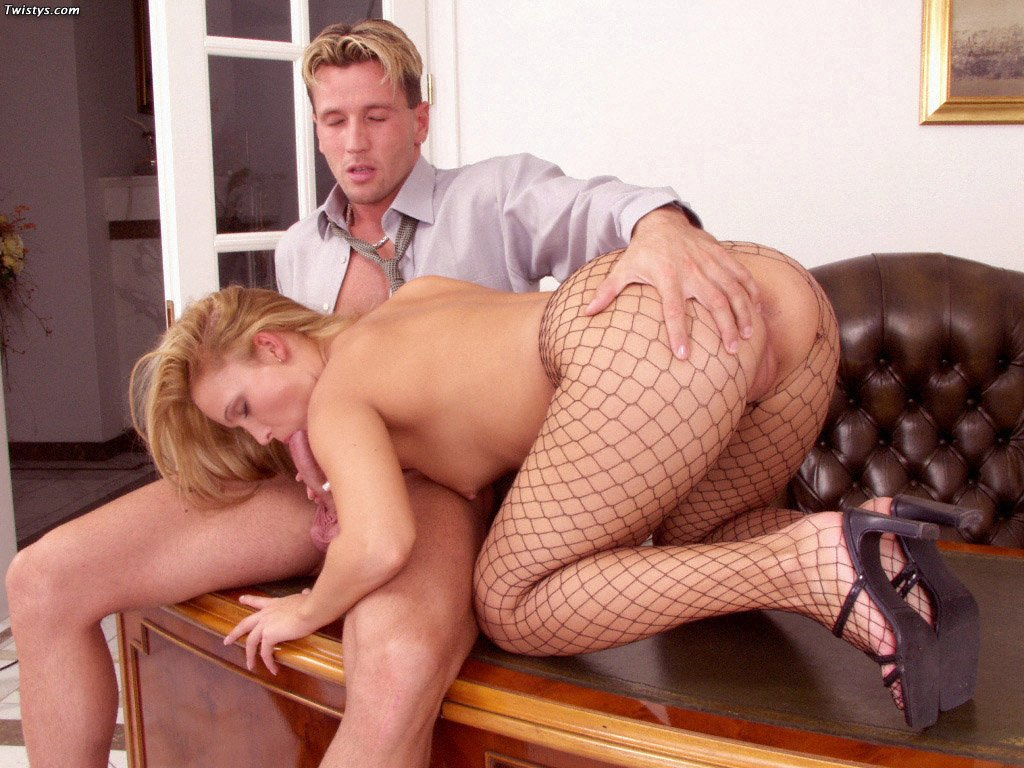 Tiffany Rose In Fishnet Pantyhose Getting Fucked 6