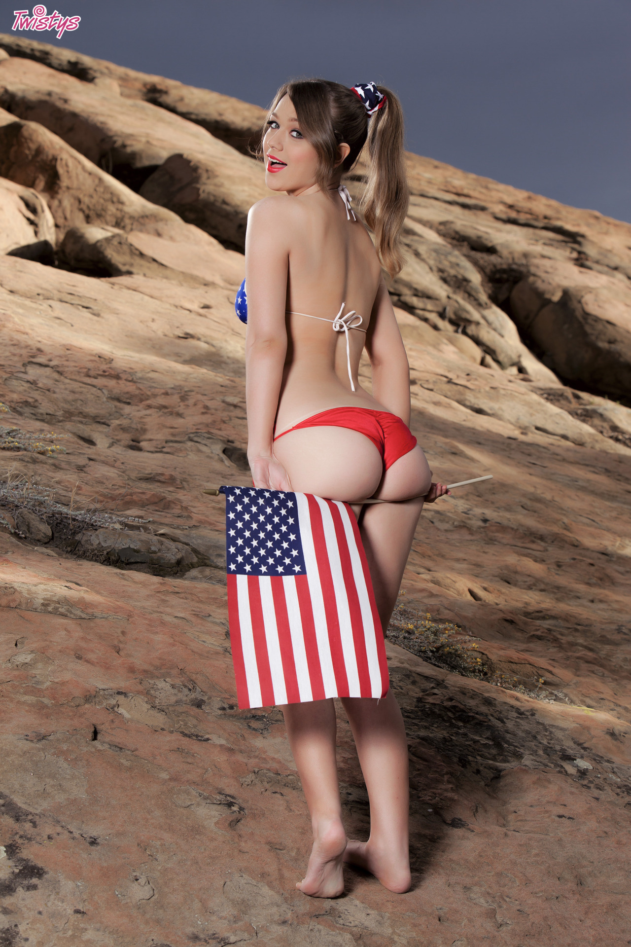 Alaina Fox, Wishing You A Very Happy 4th Of July 2
