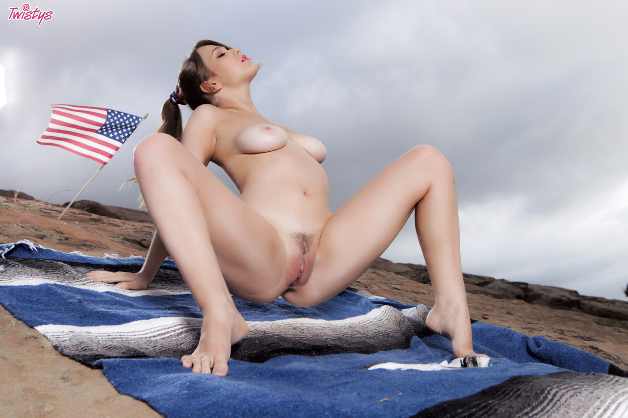 Alaina Fox, Wishing You A Very Happy 4th Of July 6
